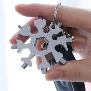 18 in 1 stainless steel snowflakes multi-tool, All You Want For Christmas.