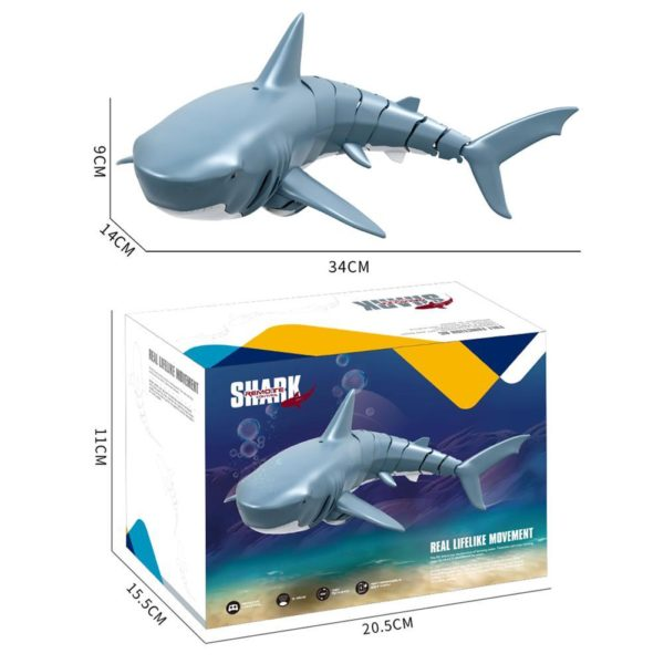 2.4G Electric Simulation Remote Control Shark Toys - HahaGet