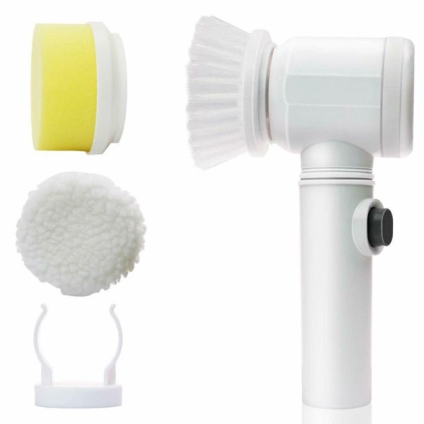 3 in1 Handheld Electric Cleaning Brush for Kitchen Bathroom - HahaGet