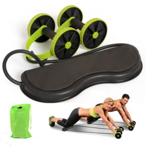 AB Wheels Roller Double Muscle Trainer - HahaGet