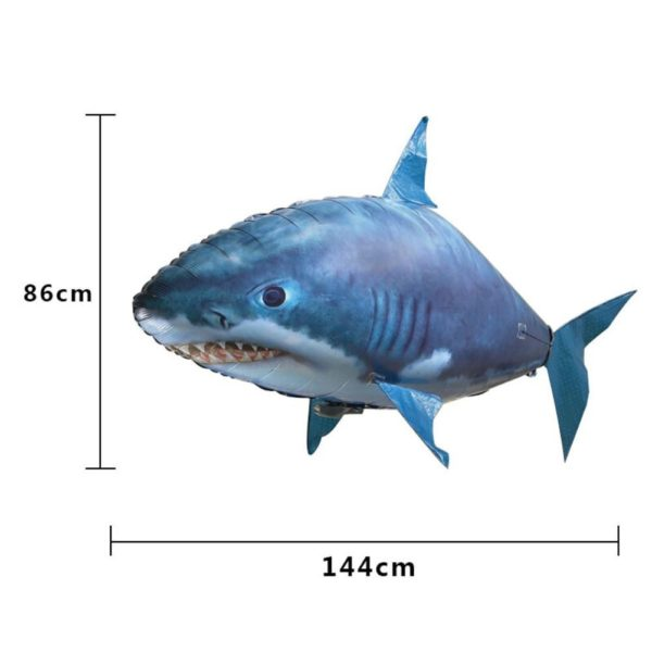 Air Swimmers Remote Control Flying Shark - HahaGet