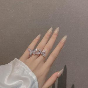 Butterfly-Shaped Adjustable Ring / Chain - 2020 New Jewelry For Women - HahaGet