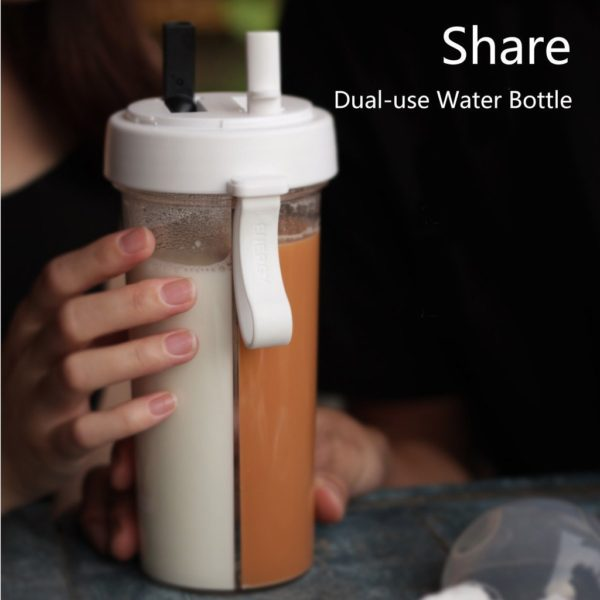 Creative Portable Dual-Use Water Bottle - HahaGet