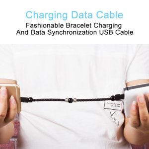 Fashion Wearable USB Charging Bracelet Charger Cable - HahaGet