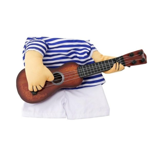 Funny Pets Play Guitar Cosplay Costume - HahaGet