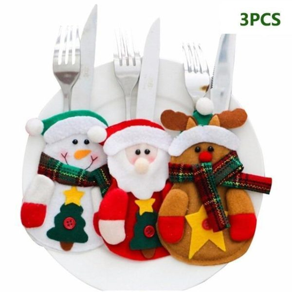 HOLIDAY CUTLERY SET, All You Want For Christmas.