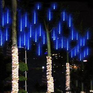 Meteor Shower Rain Tubes LED String Lights For Christmas Decoration, All You Want For Christmas.