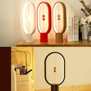 Magnetic Mid-Air Switch Touch Balance LED Table Lamp HahaGet