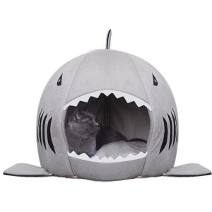 Shark Bed For Cats Dogs HahaGet